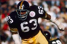 Steel Curtain Football Throwback Thursday Steelers Defensive Tackle Ernie Holmes