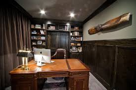 Rustic Office Decor Ideas Office Design Masculine Office Decor Pictures Cool Office