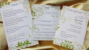 wedding inserts invitation inserts