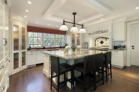 kitchen island with seating for 3 64 amazing kitchens with island home designs intended for