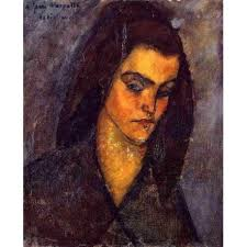 modigliani woman with a fan beggar woman by amedeo modigliani oil painting reproductions