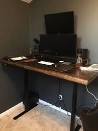 pittsburgh crank sit stand desk humanscale sit stand desk black with walnut desks office