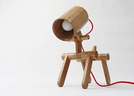 Bamboo Desk Lamp Led Desk Lamp Dog Shape Bamboo Led Desk Lamp Lighting For Reading