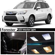 white subaru forester interior 8x white interior led lights package kit for 2015 2017 subaru