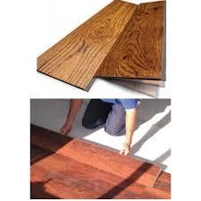 Vinyl Click Plank Flooring Mahogany Cypress Waterproof Vinyl Flooring
