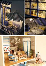 Diy Dollhouse Furniture Home Decoration Crafts Diy Doll House Wooden Doll Houses Miniature
