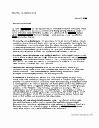 cover letter for faculty position unique academic document