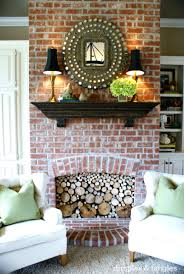 lemons to lemonade log filled fireplace dimples and tangles