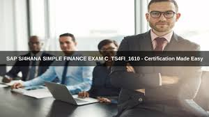 sap s 4hana simple finance exam c ts4fi 1610 certification made easy