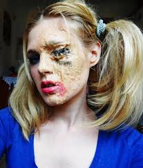 halloween makeup wax halloween sfx tutorial melted doll amandabootes co uk