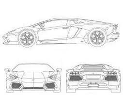 lamborghini gallardo blueprint 80s lamborghini cars