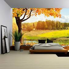 wall26 com art prints framed art canvas prints greeting wall26 autumn landscape removable wall mural self adhesive large wallpaper 100x144 inches