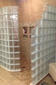 glass block designs for bathrooms solutions to custom glass block shower installation problems