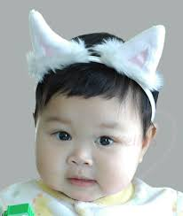 cat earstoddler halloween costumewhite kitten ear