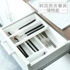 organiseur de tiroir cuisine organiseur de tiroir cuisine creative plastique tiroir organisateur
