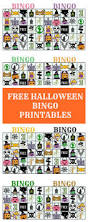 Printables Halloween by Printable Halloween Bingo Cards Faithfully Free