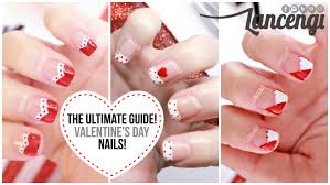 nail art for beginners 20 no tools valentines day french