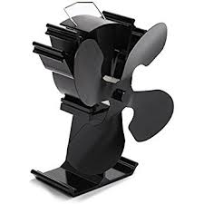 wood burning stove circulating fan amazon com kenley heat powered fan for wood burning stove eco