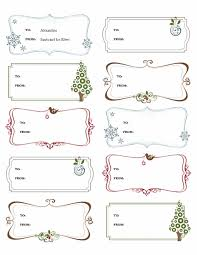 free christmas gift tag templates for word template business