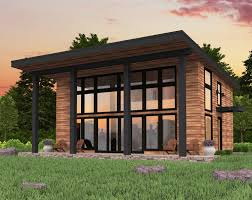 Prefab Guest House With Bathroom by Small House Plans Mark Stewart Home Design