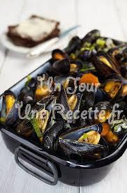 cuisiner des moules au vin blanc moules marinières recette facile un jour une recette