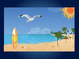 surf car clipart beach palm tree clip art palm trees a seagull and surf board
