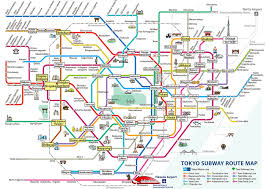 Narita Airport Map Tokyo Subway Your Essential Guide To Tokyo U0027s Public Transport