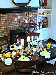thanksgiving table setting ideas at the picket fence