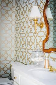 Wallpapered Bathrooms Ideas Best 25 Gold Powder Ideas On Pinterest Feminine Bathroom