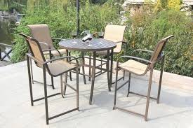 Pub Height Patio Table Design Attractive Umbrella For Bar Height Patio Table Sears Patio