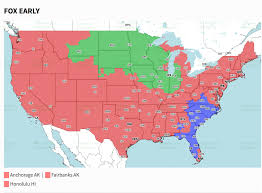 Map Of Tampa Bay Week 17 Panthers Buccaneers Tv Coverage Map Cbssports Com