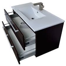 vanity vanity unit bathroom vanity units light walnut 900mm wall