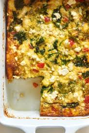 recipe make ahead spinach and feta egg casserole kitchn