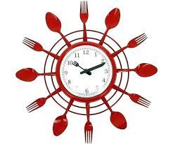 horloge murale cuisine horloge cuisine design cuisine design unique cuisine design a metal