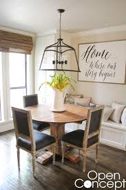 Kitchen Round Tables by Diy Round Table As Seen On Hgtv Open Concept Shanty 2 Chic