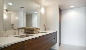 bathroom mirrors frameless francisca large frameless wall mirror free shipping today
