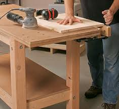 Plans For Making A Wooden Workbench by Free Woodworking Workbench Plans Simple Woodworking Project