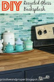 recycled glass backsplashes for kitchens diy recycled glass backsplash with the tile shop