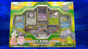 opening a early legacy evolution pin collection box