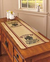 country table runners ltd commodities