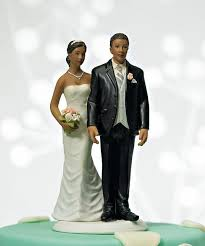 black cake toppers pinch wedding cake topper