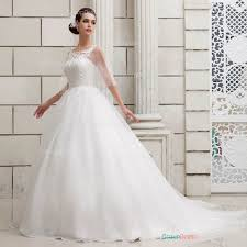 wedding dress patterns a line feminine lace patterns organza wedding dress groupdress