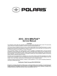 brutus service manual biodiesel transmission mechanics