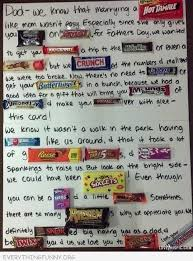 candy s day card fathers day card with candy bars for my boys