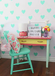 Vintage Kids Desk by Kids U0027 Rooms With Turquoise By Kids Interiors