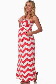 chevron maxi dress pink white chevron maternity maxi dress