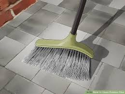 3 ways to clean outdoor tiles wikihow