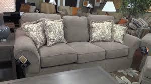 Ashley Furniture Tufted Sofa by Ashley Furniture Sonnenora Sofa Chair U0026 Ottoman 388 Review Youtube