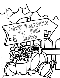 thanksgiving coloring page 3 coloring page crafting the word of god