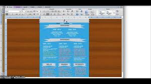Template For A Resume Microsoft Word Designing Your Resume In Microsoft Word Youtube
